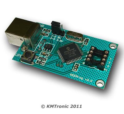 USB E-Eprom programmer - 24xx, 93xx, 25xx, 95xx eeproms