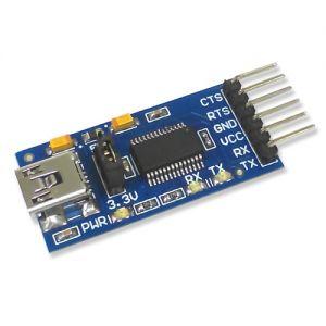 Adaptateur Convertisseur USB série FT232RL RS232, atmel, avr, microchip, pic, arduino