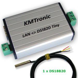 LAN DS18B20 MODBUS Temperature Monitor 1 Sensor Complete