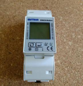 SDM230 Modbus 220/230V Single Phase Energy Meter, double DIN module