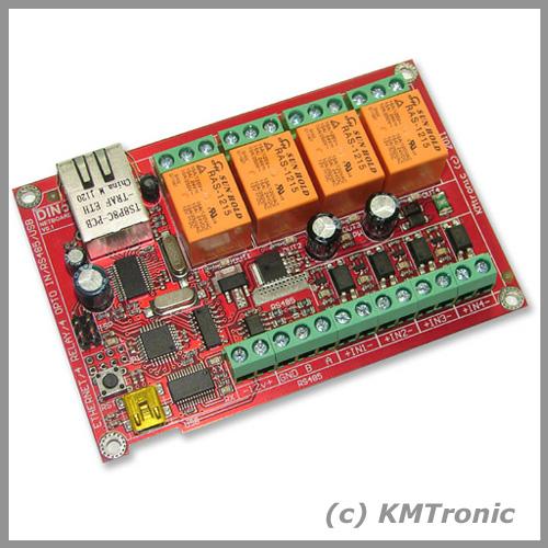 KMtronic Ltd: KMTronic DINo Internet/Ethernet I/O board